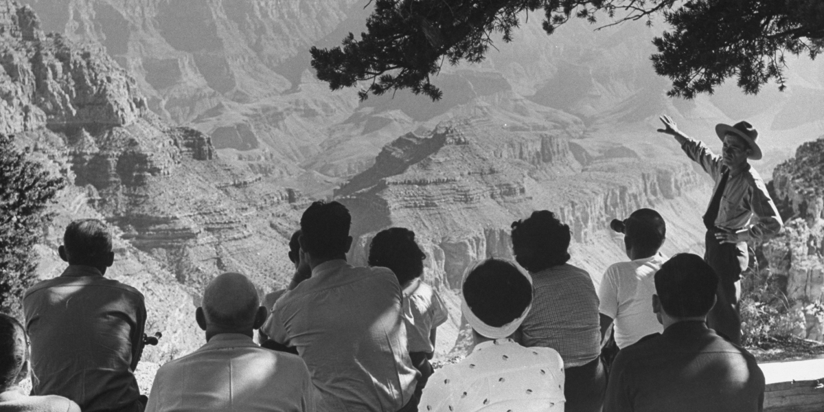 The Grand Canyon Is 100 Years Old. Take a Look at Its History in Photos