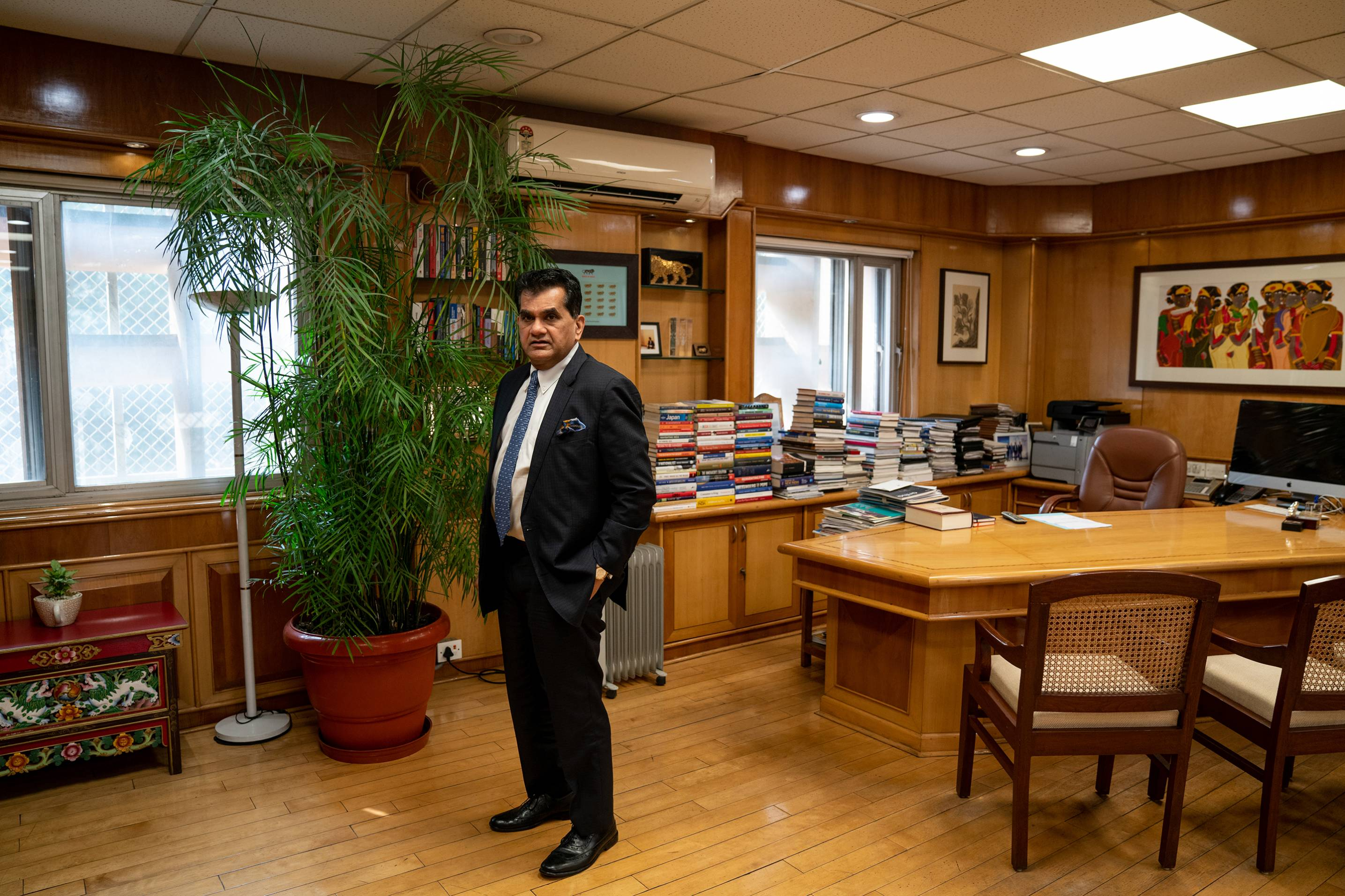 Amitabh Kant-CEO of the National Institution for Transforming India