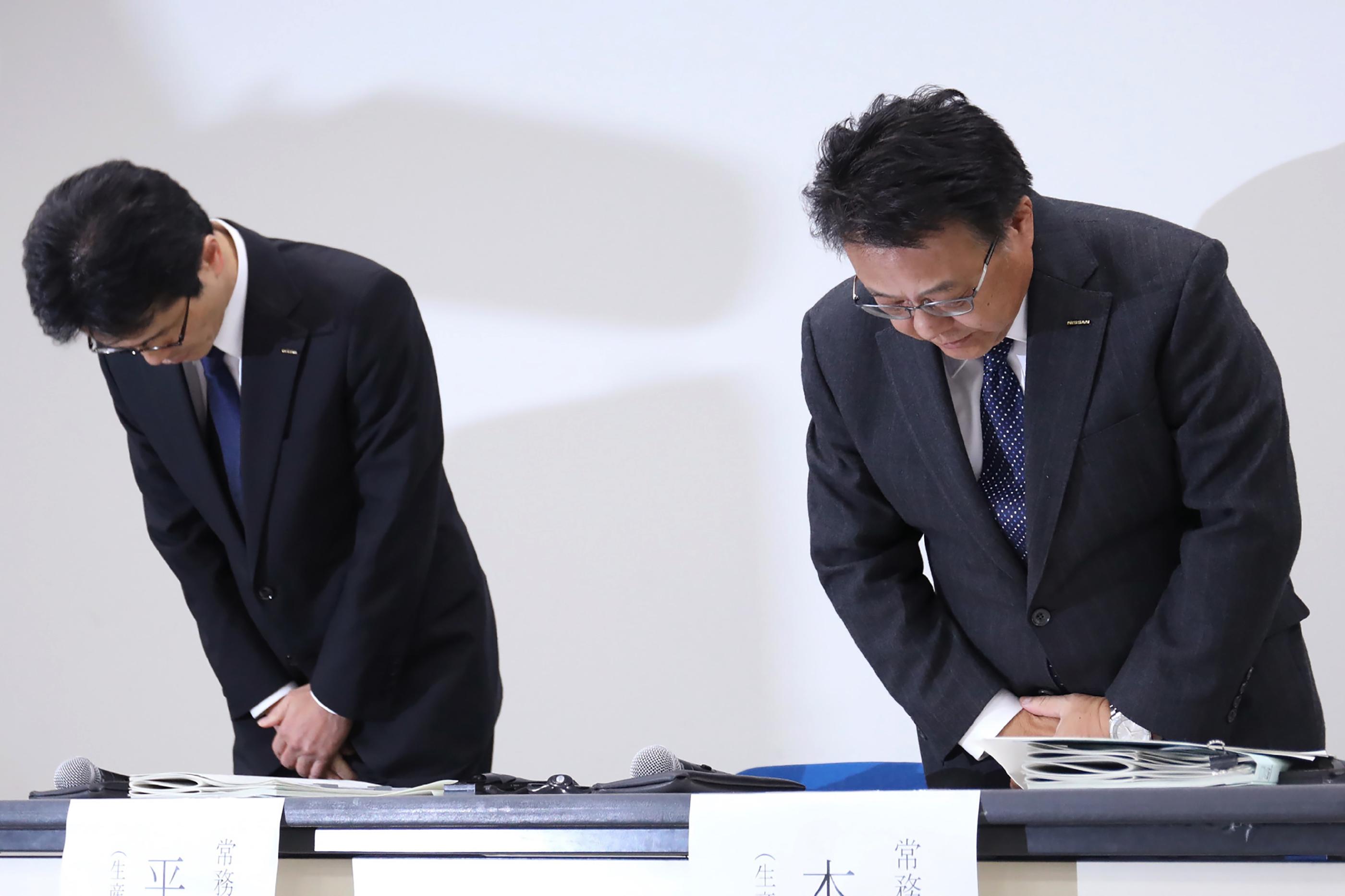 JAPAN-NISSAN-AUTOMOBILE-INSPECTION