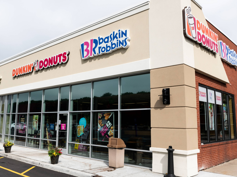 Dunkin' Donuts and Baskin-Robbins store in North Brunswick