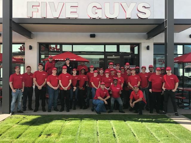 five guys-best workplaces texas 2019