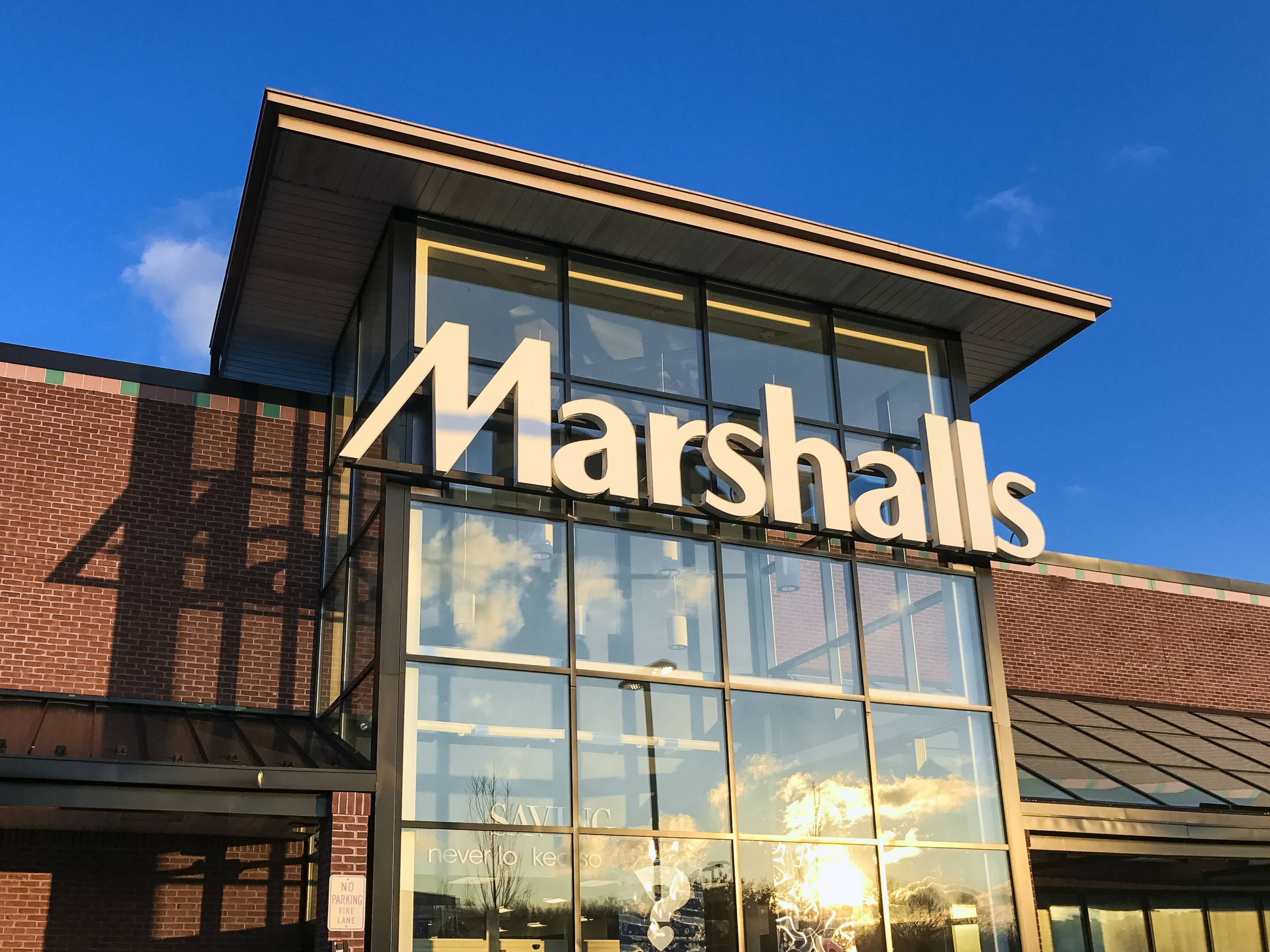 Marshalls disacount clothing store