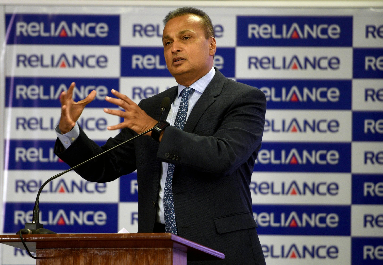 Press Conference Of Chairman Of Reliance Anil Dhirubhai Ambani Group Anil D. Ambani