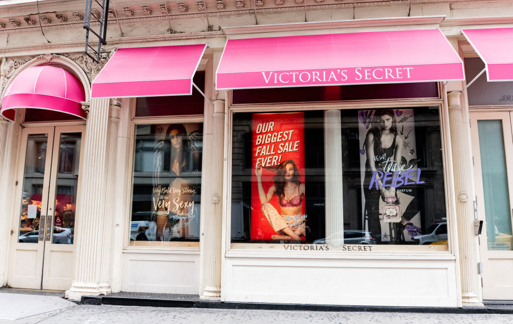 Victoria's Secret store in the SoHo neighbourhood of New