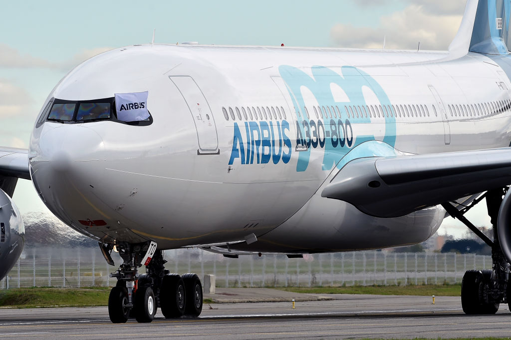 FRANCE-AVIATION-TRANSPORT-AIRBUS