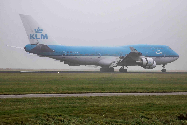KLM Boeing 747-400M
