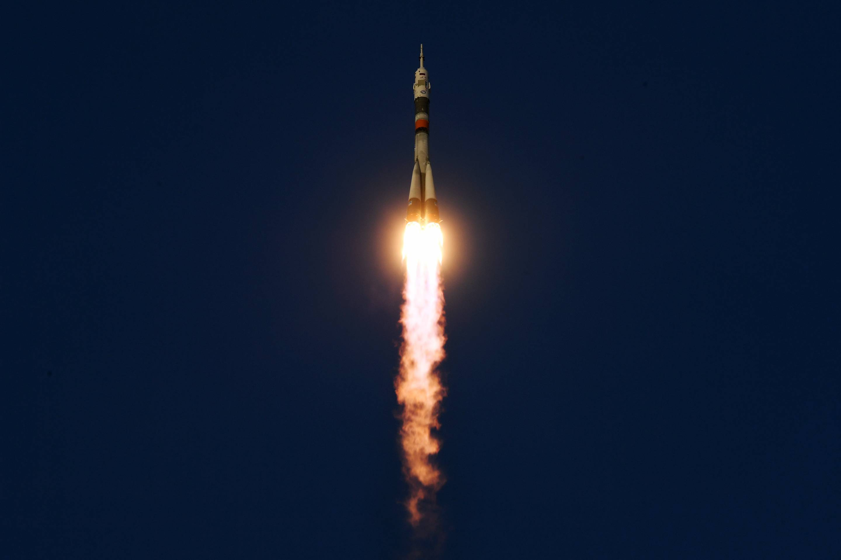 KAZAKHSTAN-RUSSIA-US-CANADA-SPACE-ISS