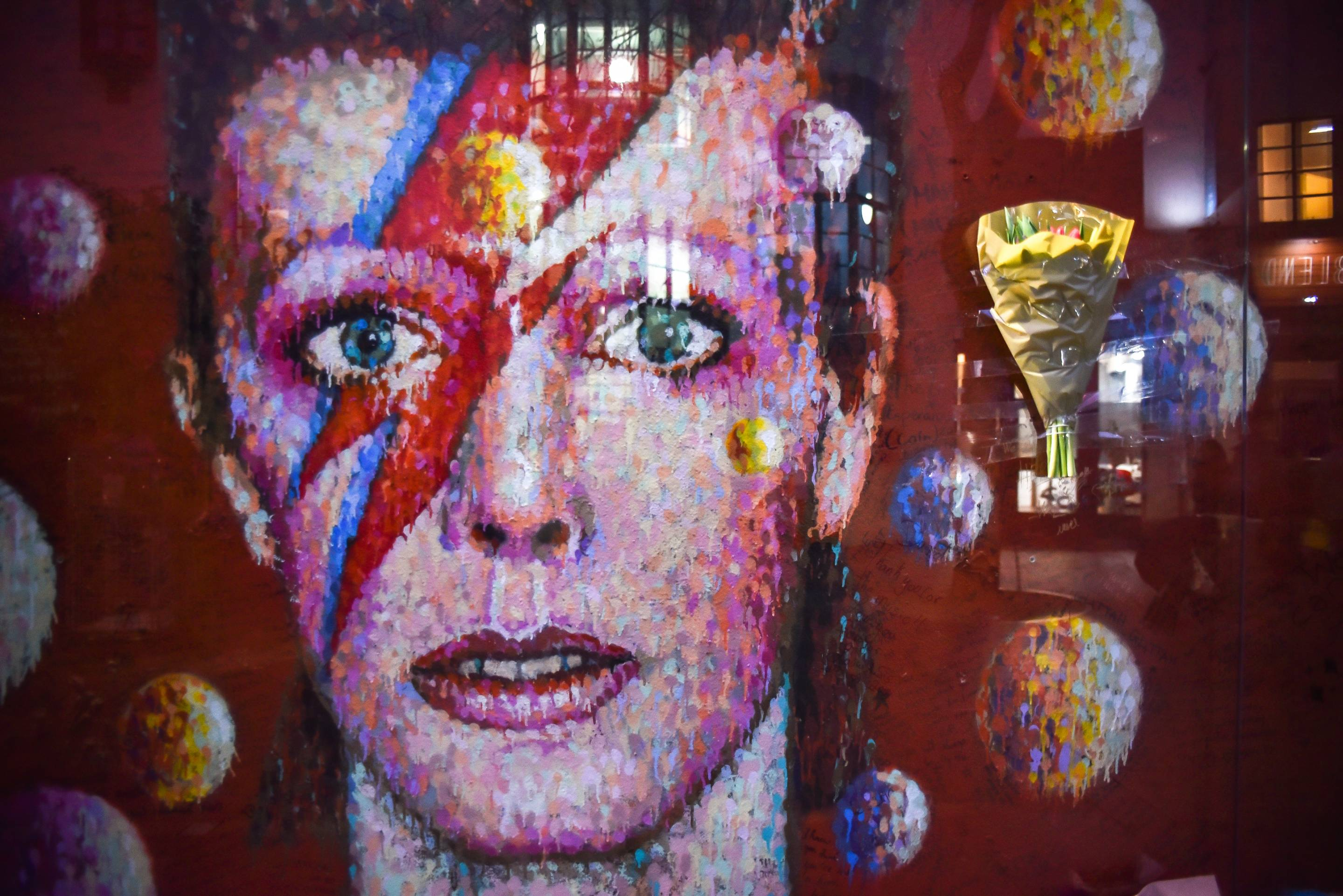 David Bowie's Death Anniversary In London