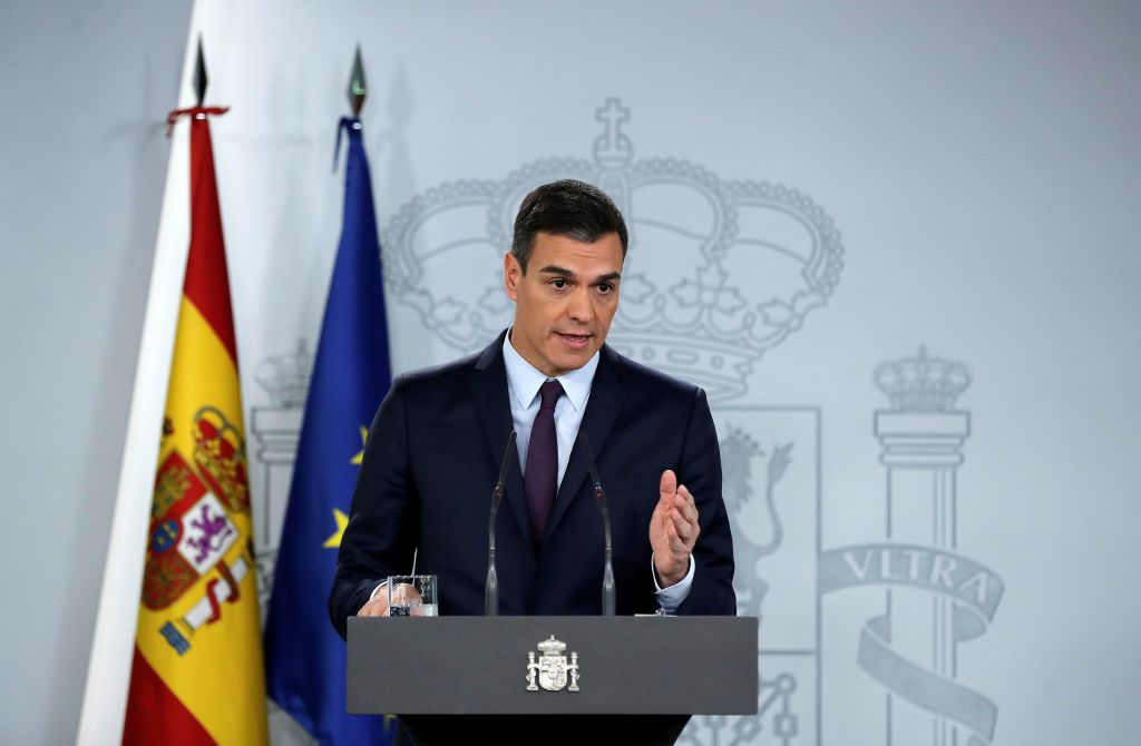 Prime Minister of Spain Pedro Sanchez