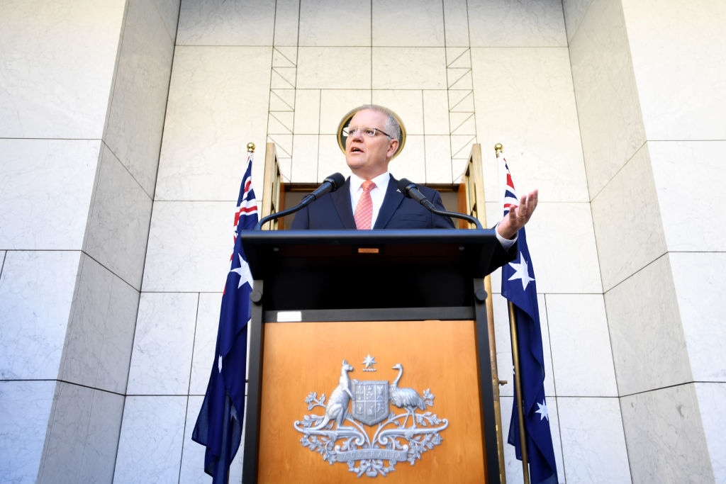Prime Minister Scott Morrison Press Conference