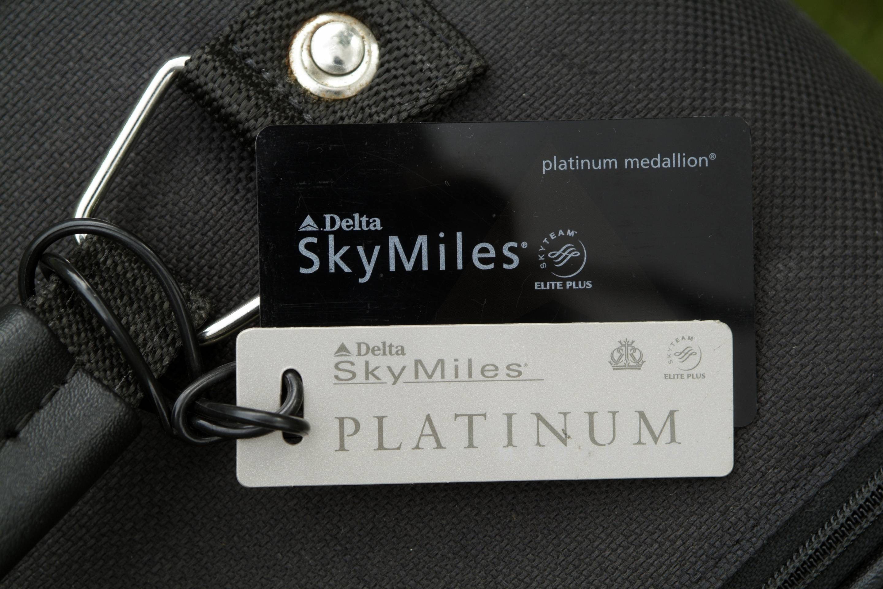 Frequent Flyer Baggage Tag. Luggage