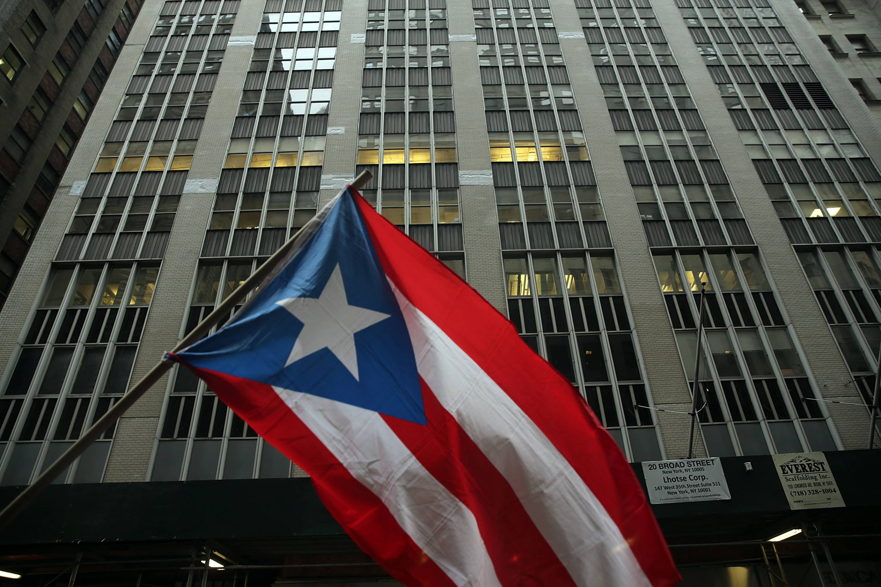 Activists Demonstrate Against Cutbacks And Austerity Measures In Puerto Rico