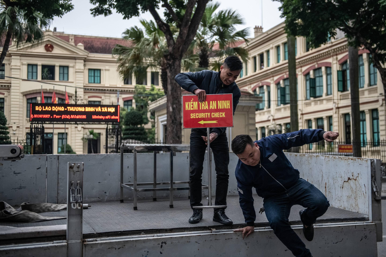 Preparations Continue In Hanoi Ahead of the Kim-Trump Summit