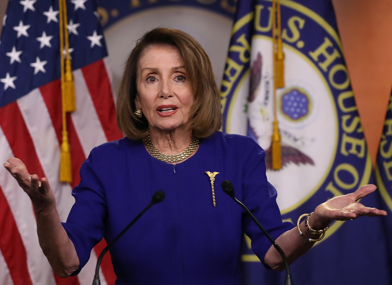 Speaker Nancy Pelosi Holds Weekly Press Conference