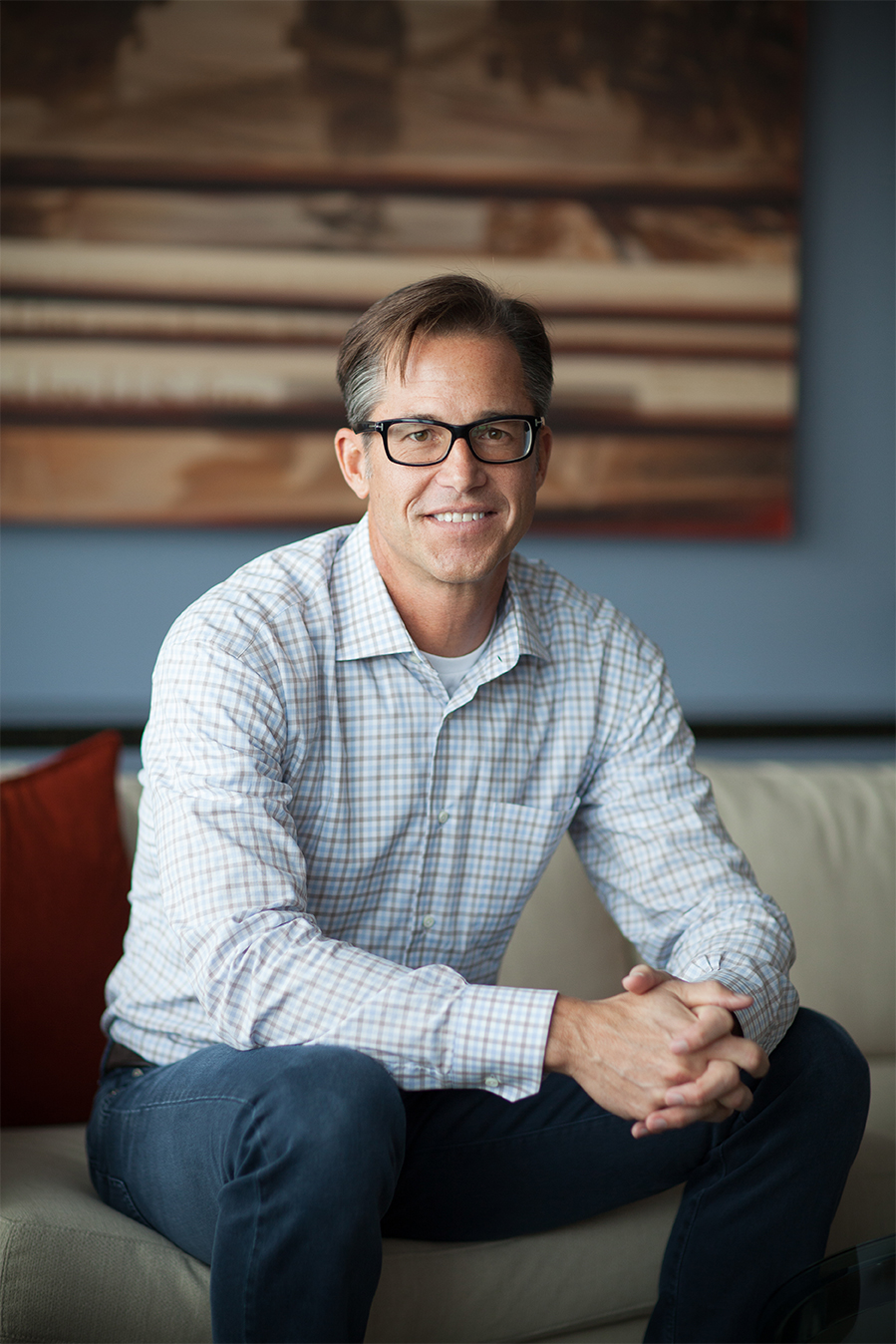 Zillow said Spencer Rascoff will step down as CEO and be replaced by founder Rich Barton (pictured).