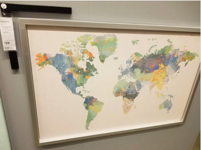 Kiwis have responded to the Ikea 'Björksta' map with typical good humor