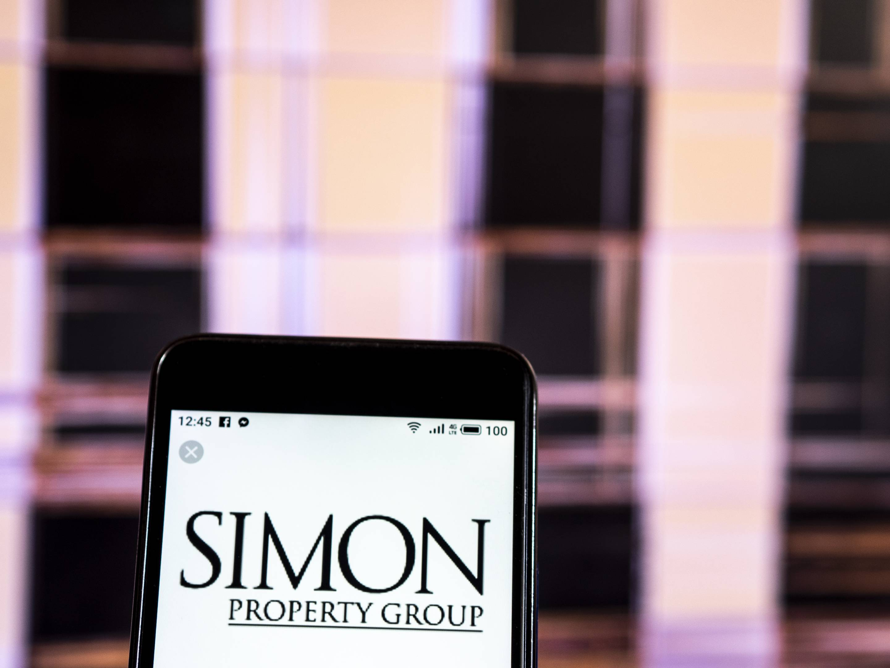 Simon Property Group Real estate company logo seen displayed