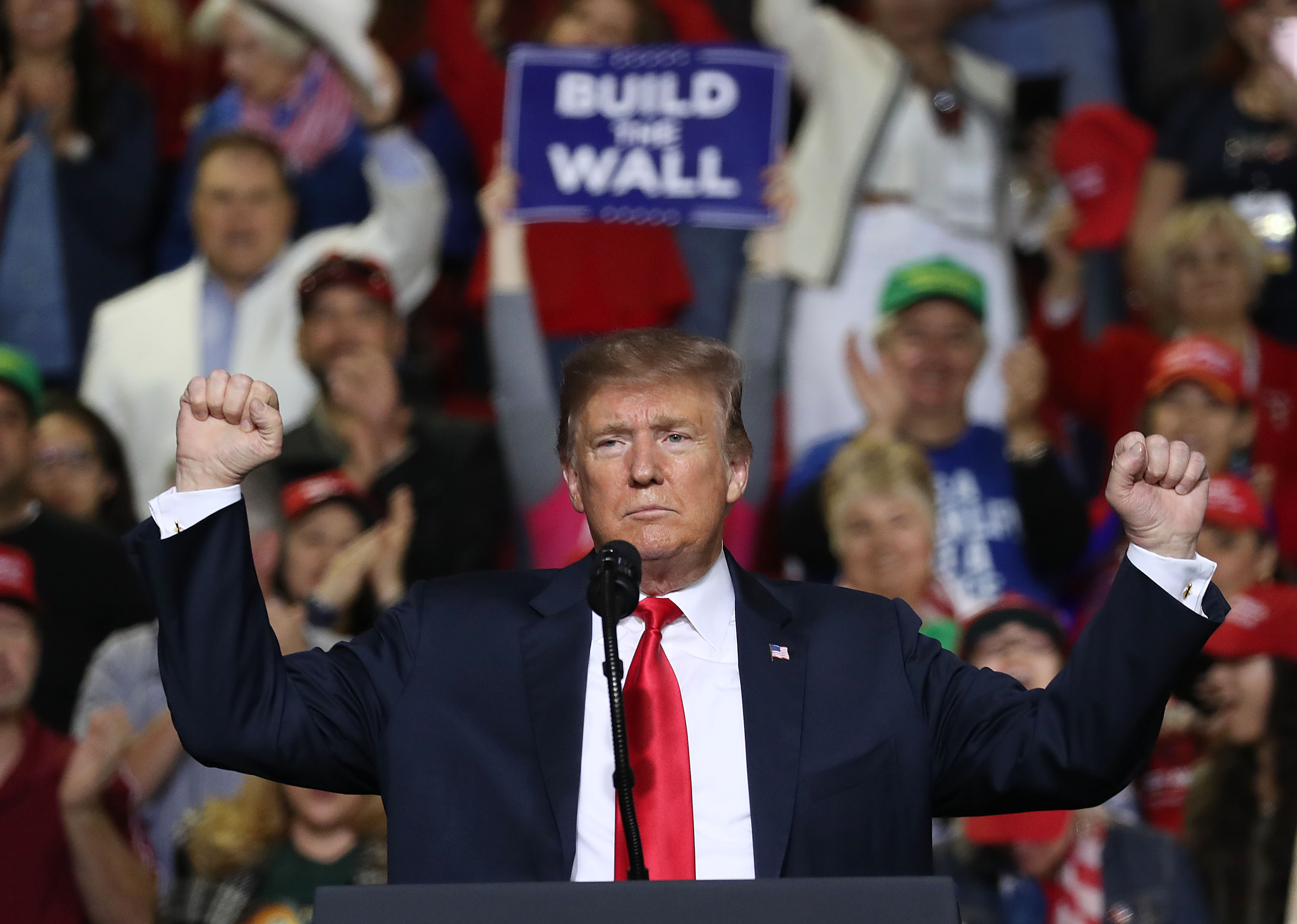 Donald Trump Holds MAGA Rally In El Paso To Discuss Border Security