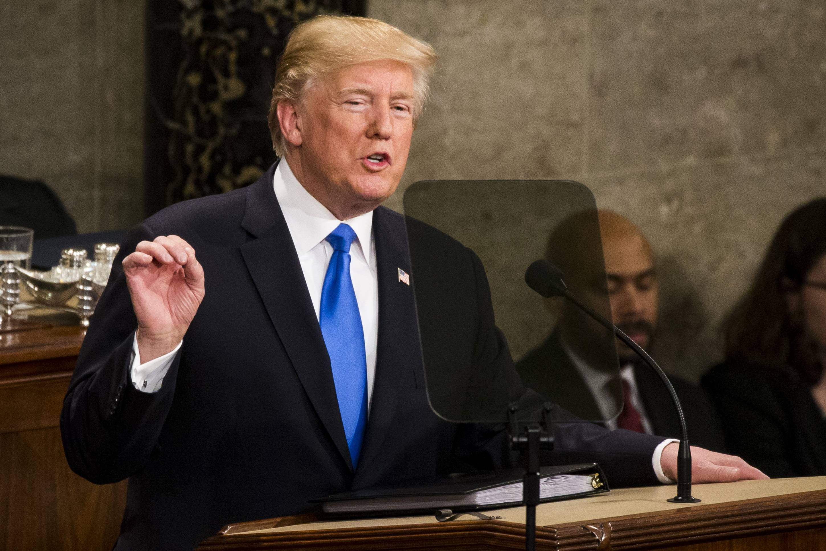 President Trump's First State of the Union Address