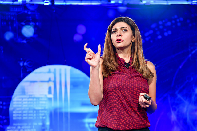 Rana el Kaliouby, co-founder and CEO of Affectiva, at Fortune's 2018 Brainstorm Reinvent.