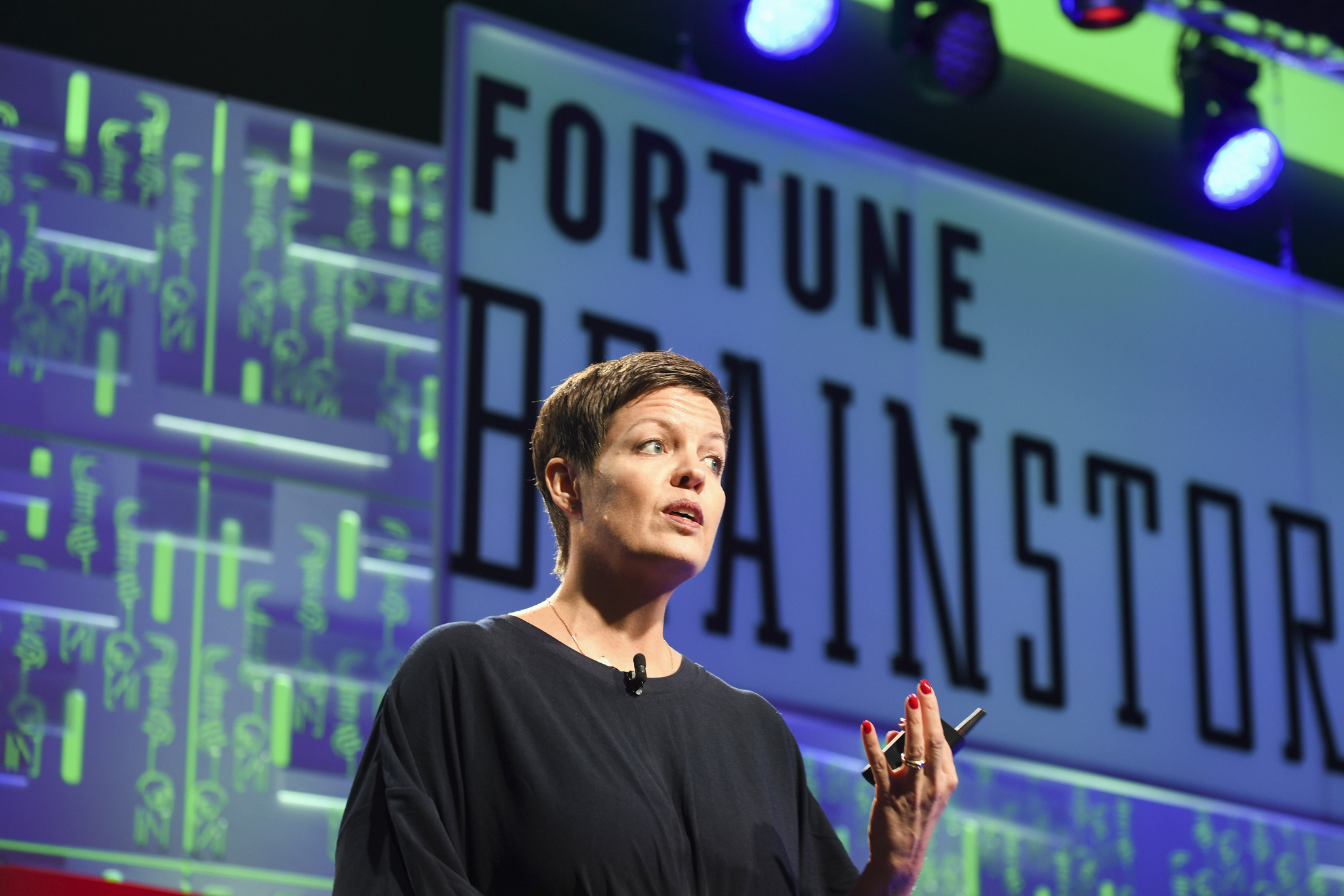Helle Søholt, founding partner and CEO of Gehl, at the 2019 Fortune Brainstorm Design conference in Singapore.