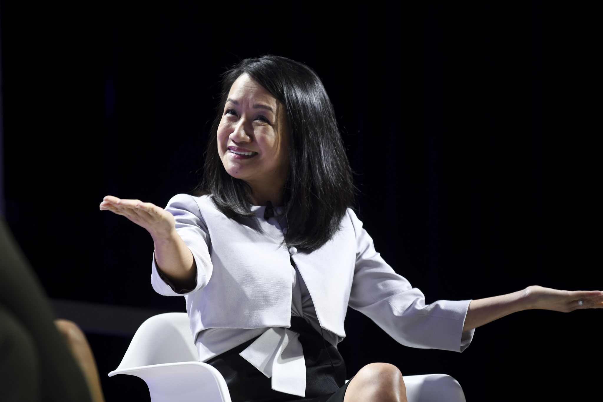 SAP chief design officer Maricel Cabahug at the 2019 Fortune Brainstorm Design conference in Singapore.