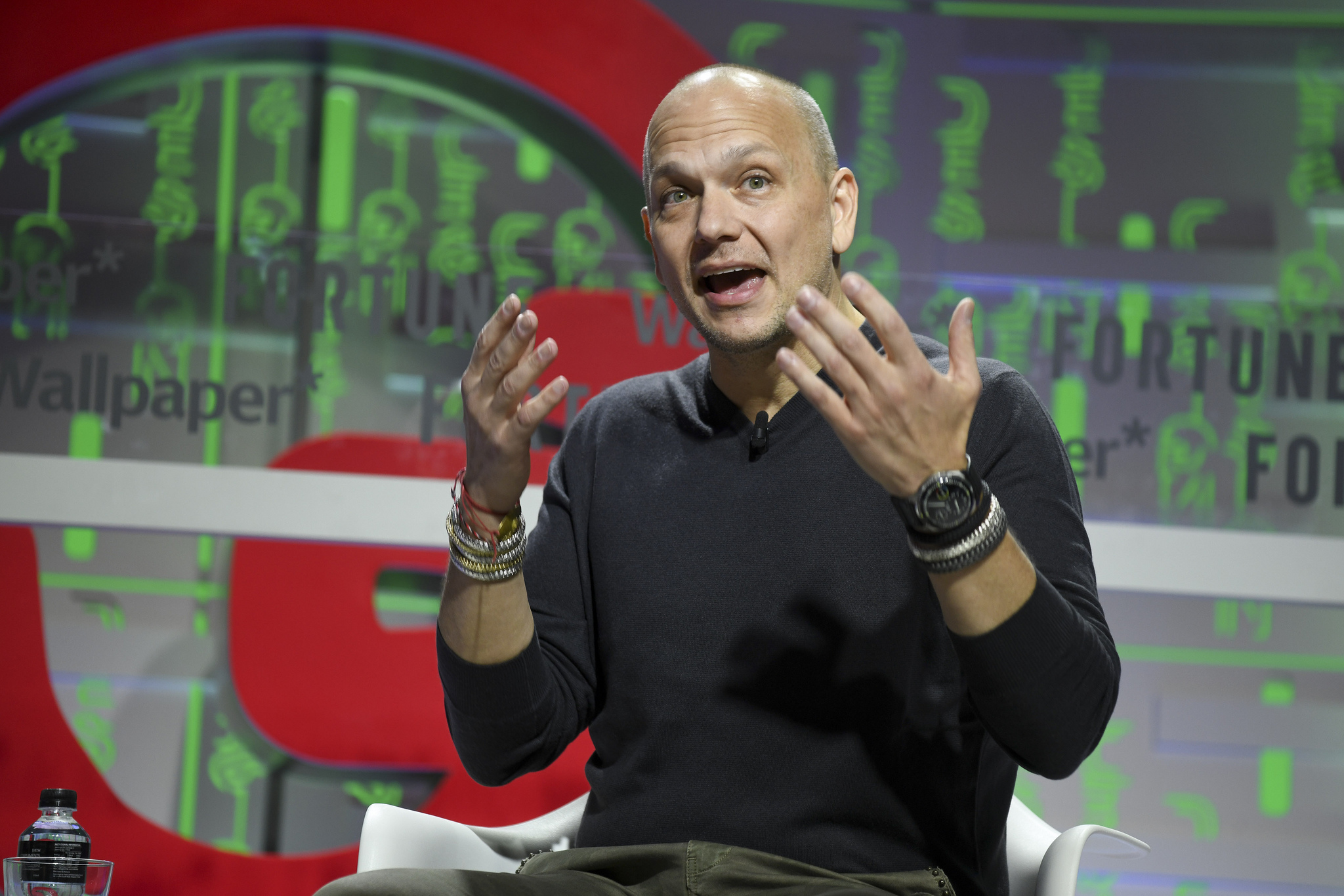 Future Shape principal Tony Fadell speaking at the 2019 Fortune Brainstorm Design conference in Singapore.