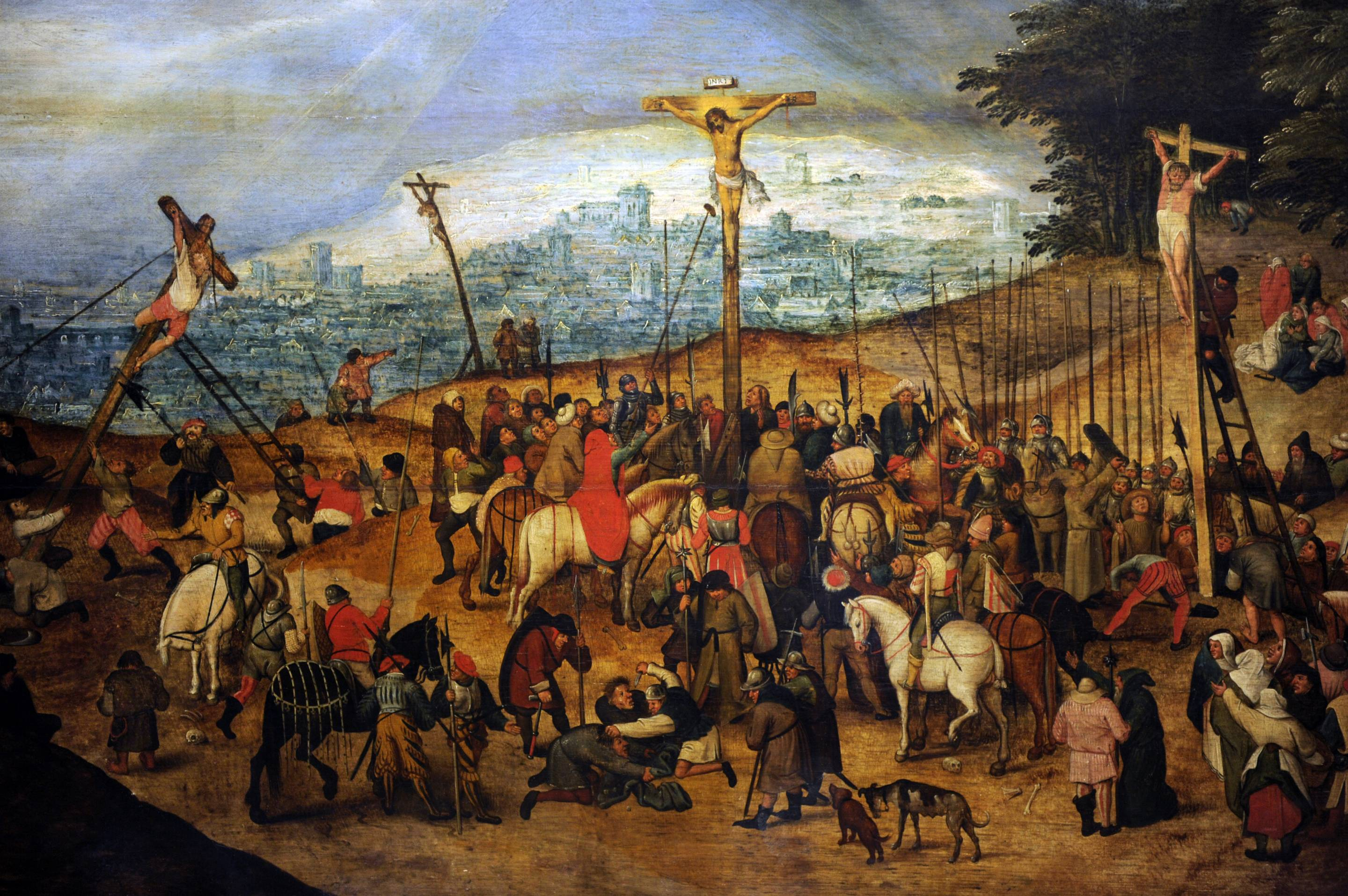 The Crucifixion or The Calvary, 1617, by Pieter Brueghel the Younger
