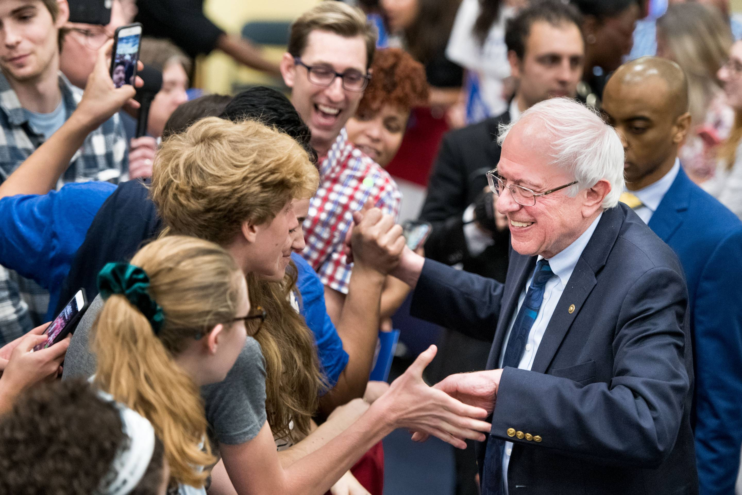 Bernie Sanders Visits South Carolina For First Time Since Launching Presidential Campaign