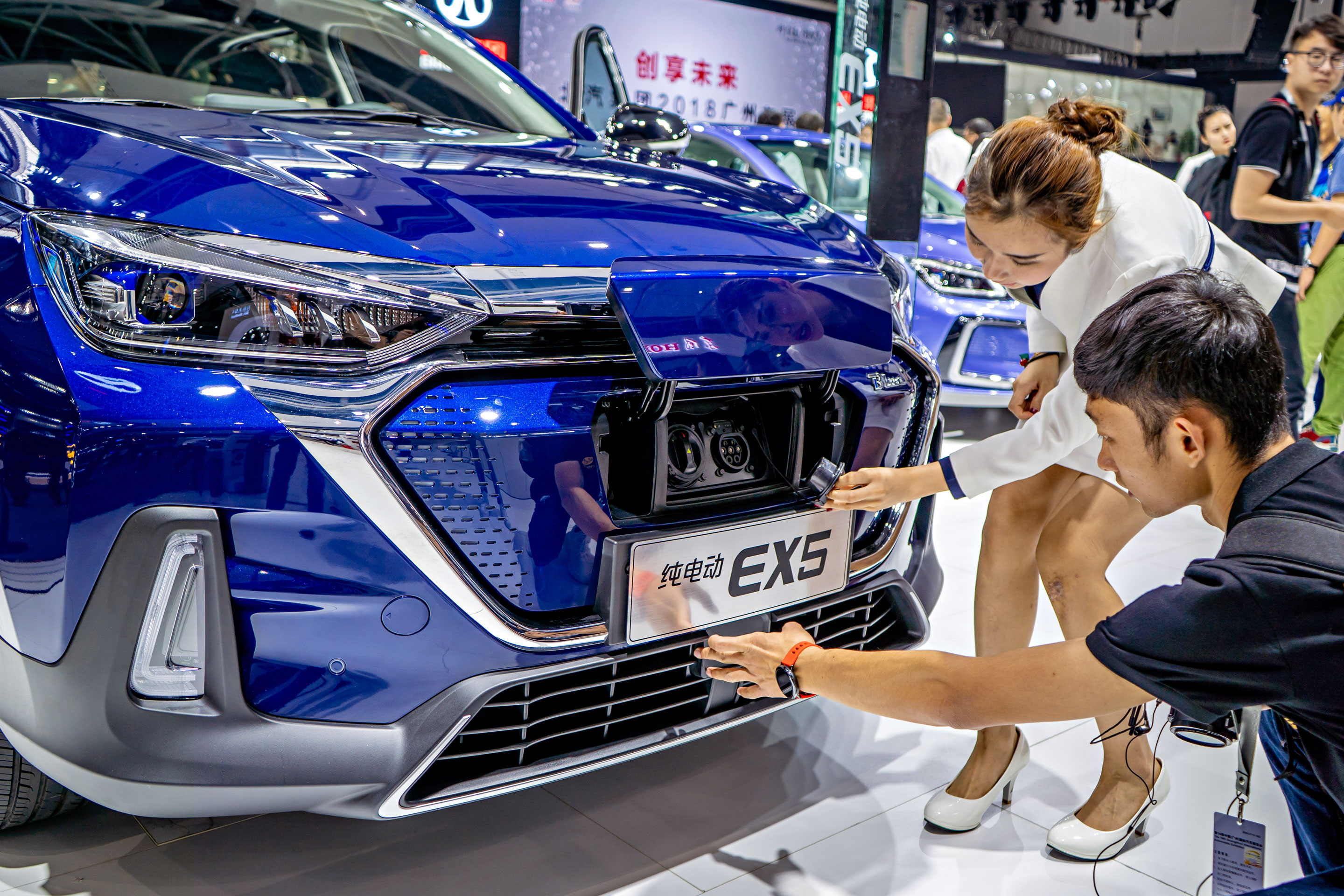 The Global Electric-Car Showdown Is Officially on in China