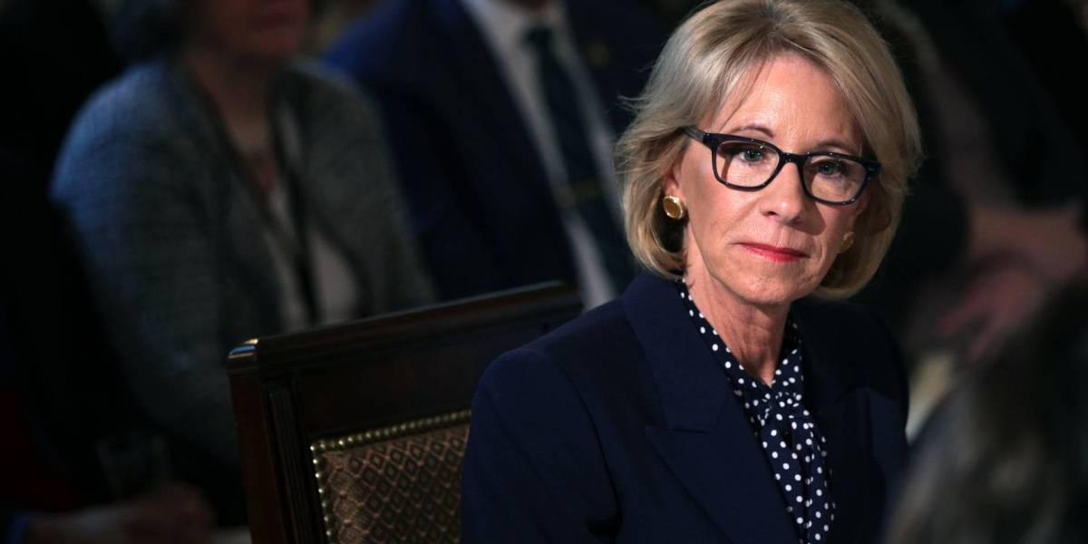 Betsy DeVos Defends Trump Administration's Elimination of Special Olympics Funding