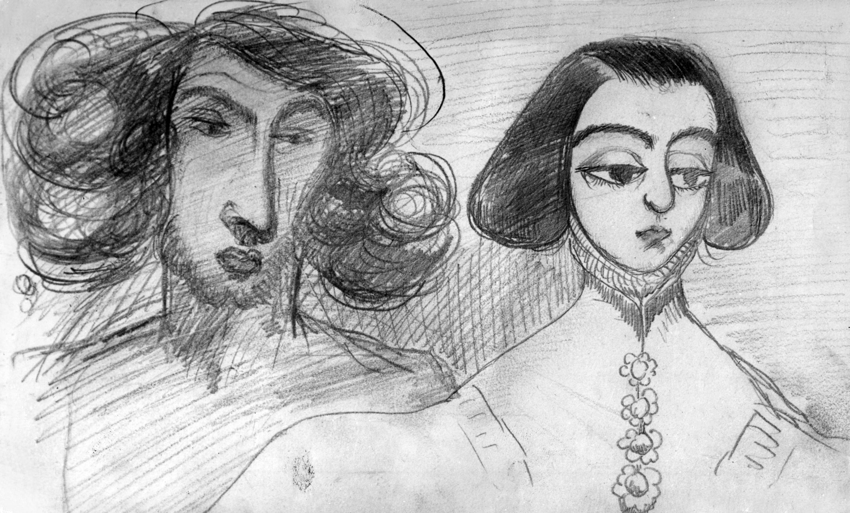 Alfred de Musset and George Sand