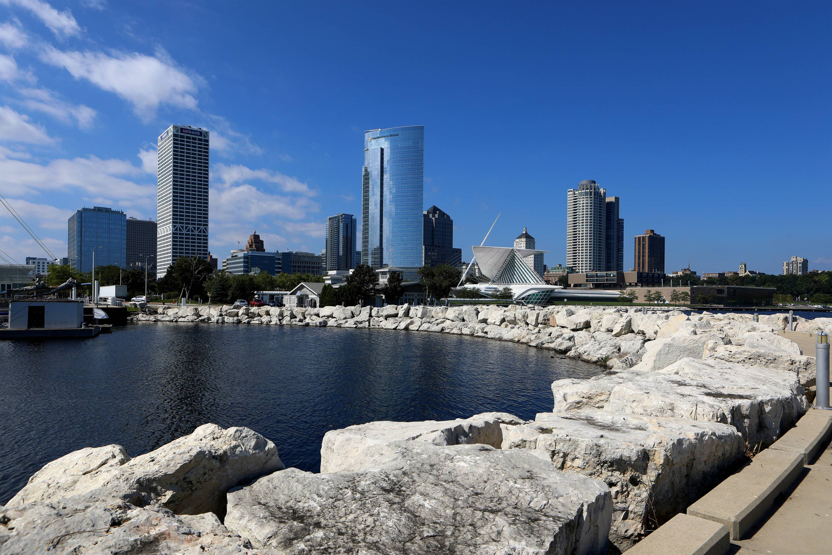 Milwaukee Cityscapes And City Views