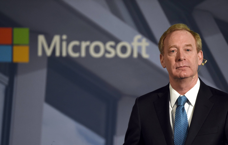 Microsoft's Brad Smith