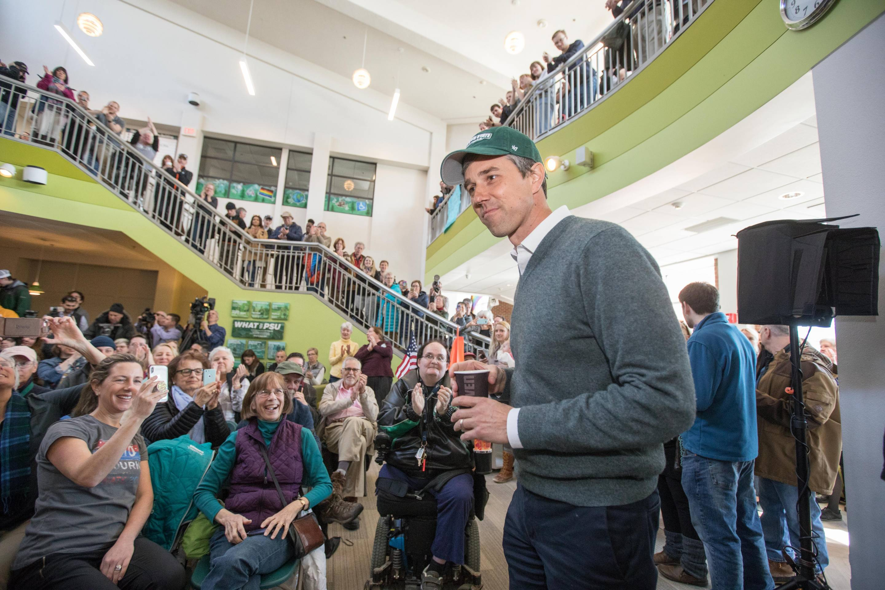 Beto O'Rourke Visits New Hampshire For First Time Since Launching Presidential Campaign