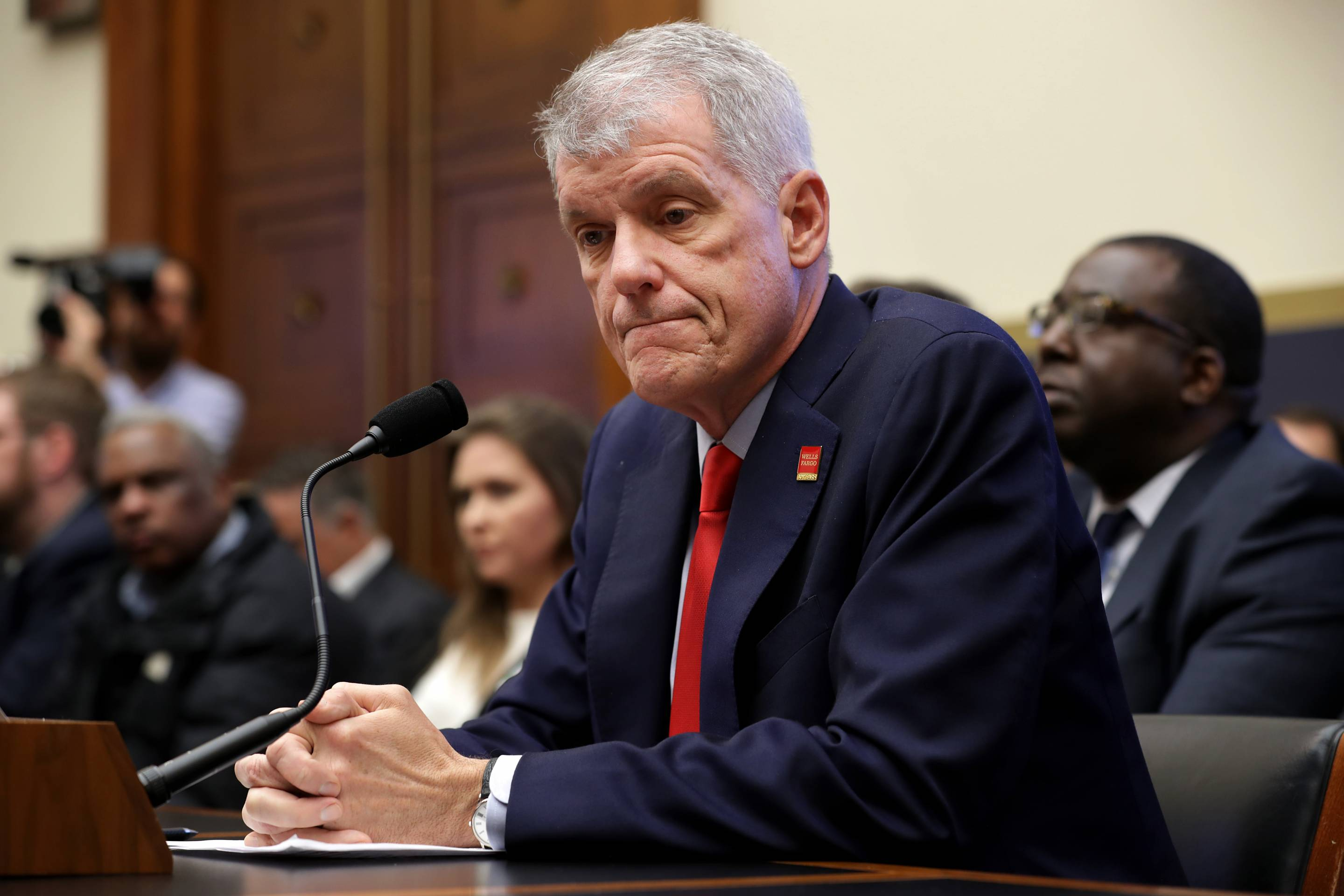 Wells Fargo CEO Tim Sloan Testifies Before House Financial Services Committee