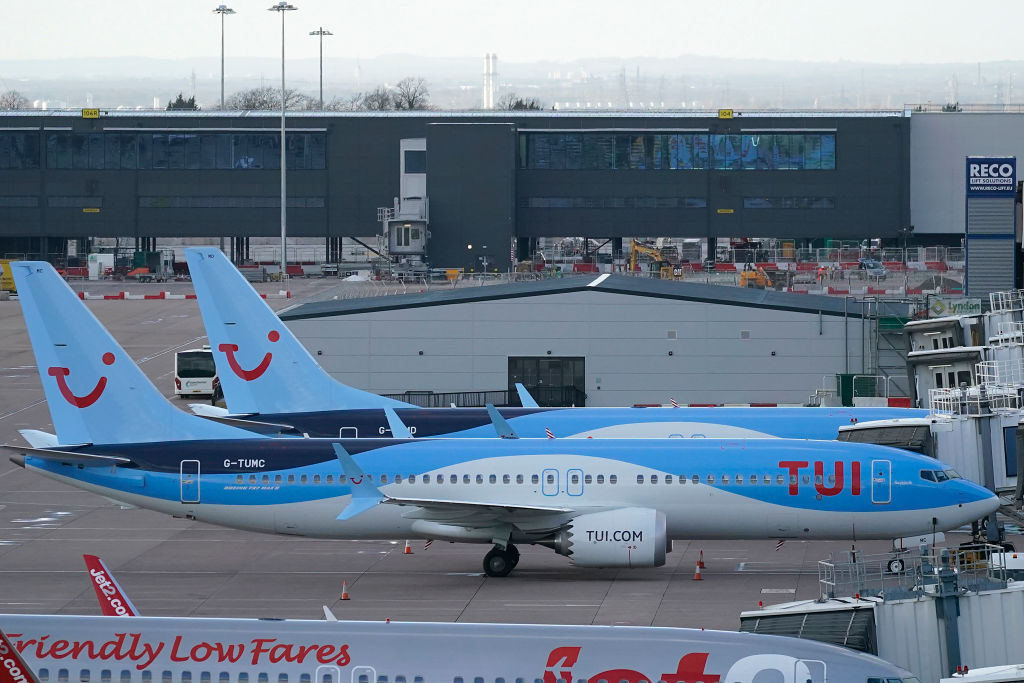 Boeing 737 Max 8 Parked After UK Civil Aviation Authority Instructed Grounding The Aircraft Following The Ethiopian Crash