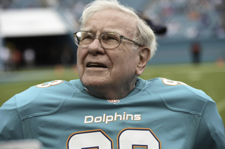 Warren Buffett Miami Dolphins jersey