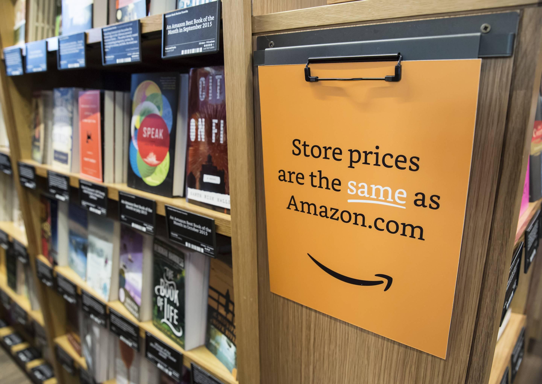 Amazon Brick-And-Mortar Bookstore In Seattle
