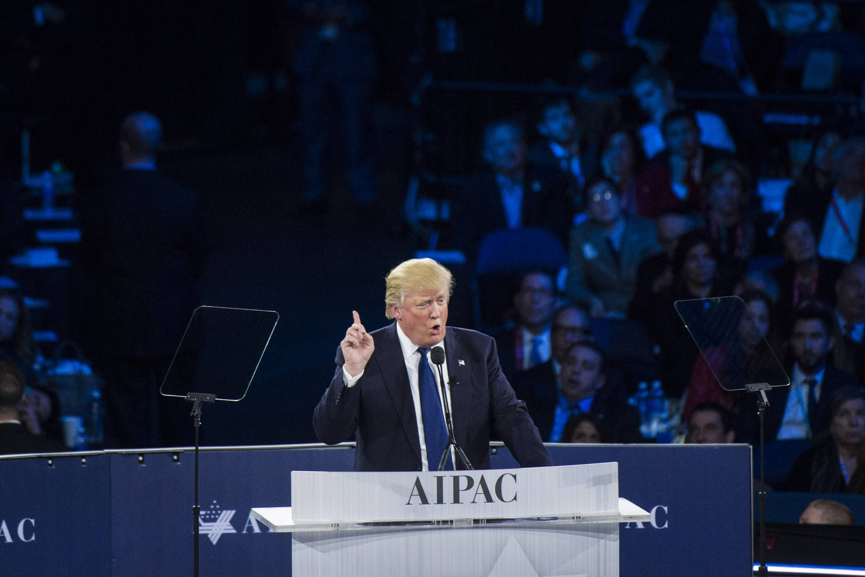 Donald Trump in Washington, DC.