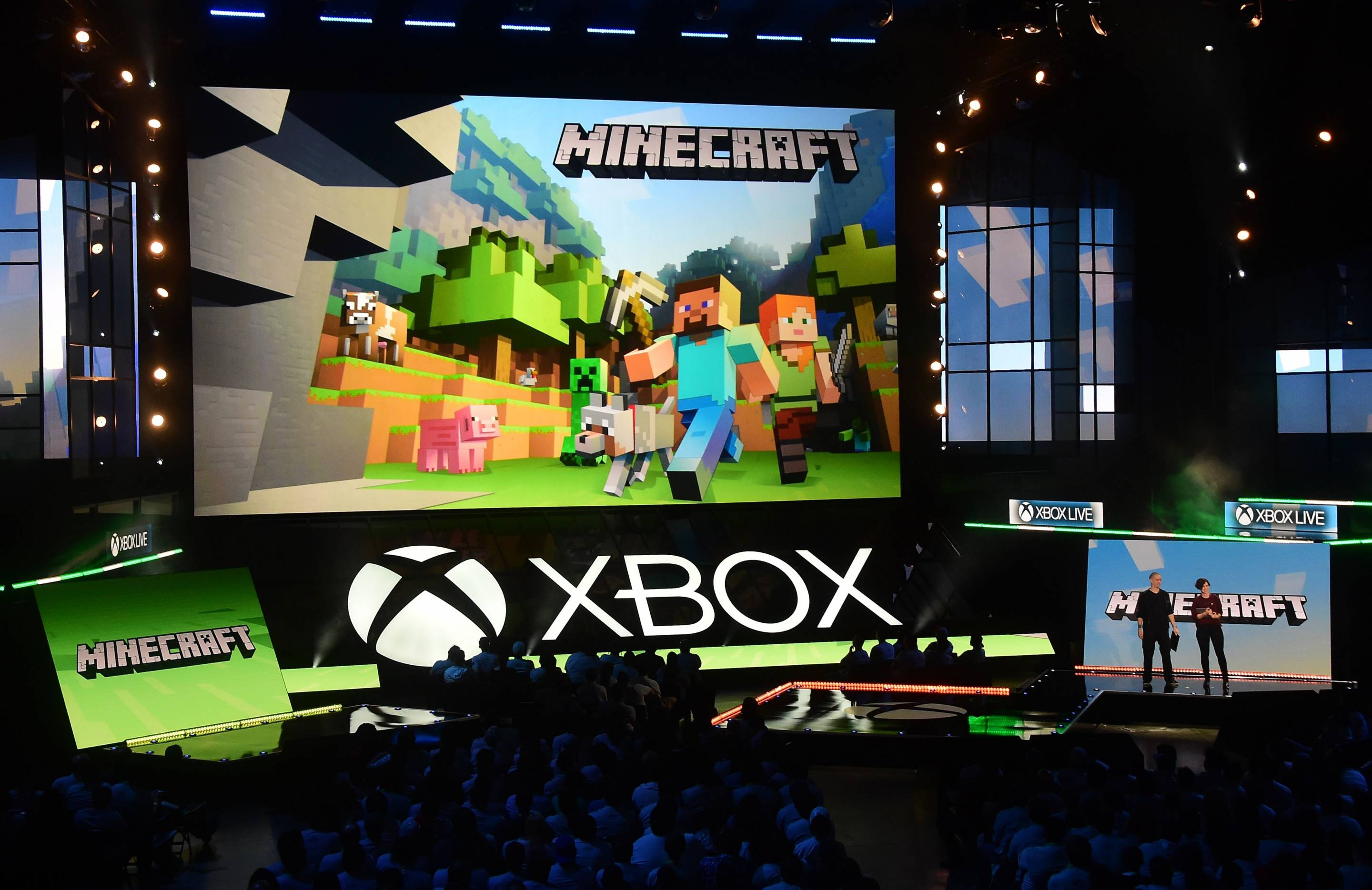 Microsoft Holds Its Xbox 2016 Briefing During Annual E3 Gaming Conference