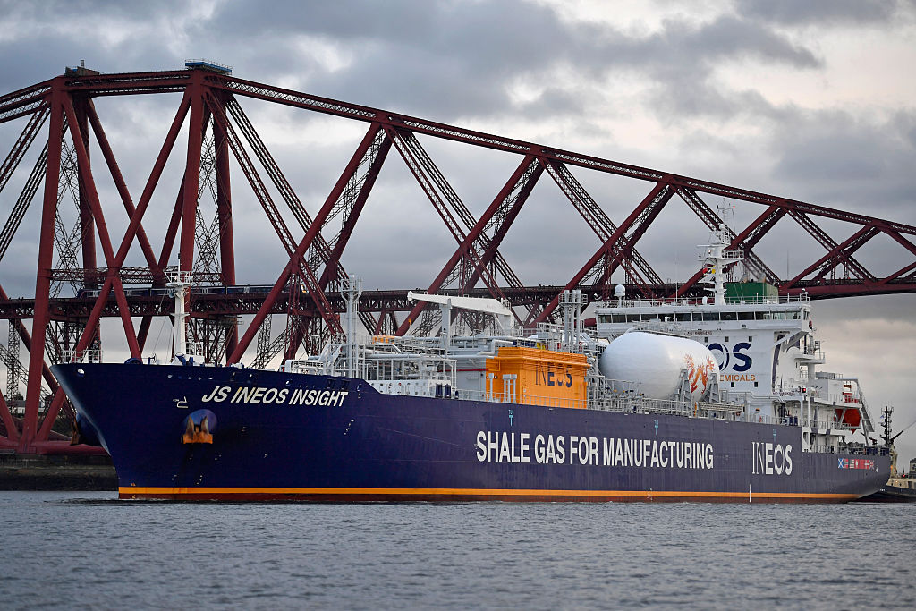 First US Shale Gas Arrives In The UK