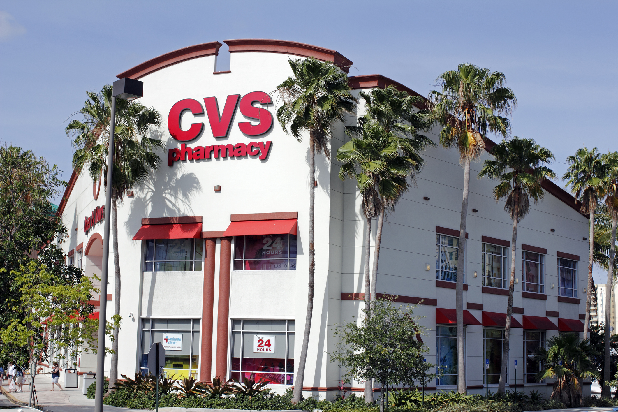 CVS Pharmacy Building with Signs