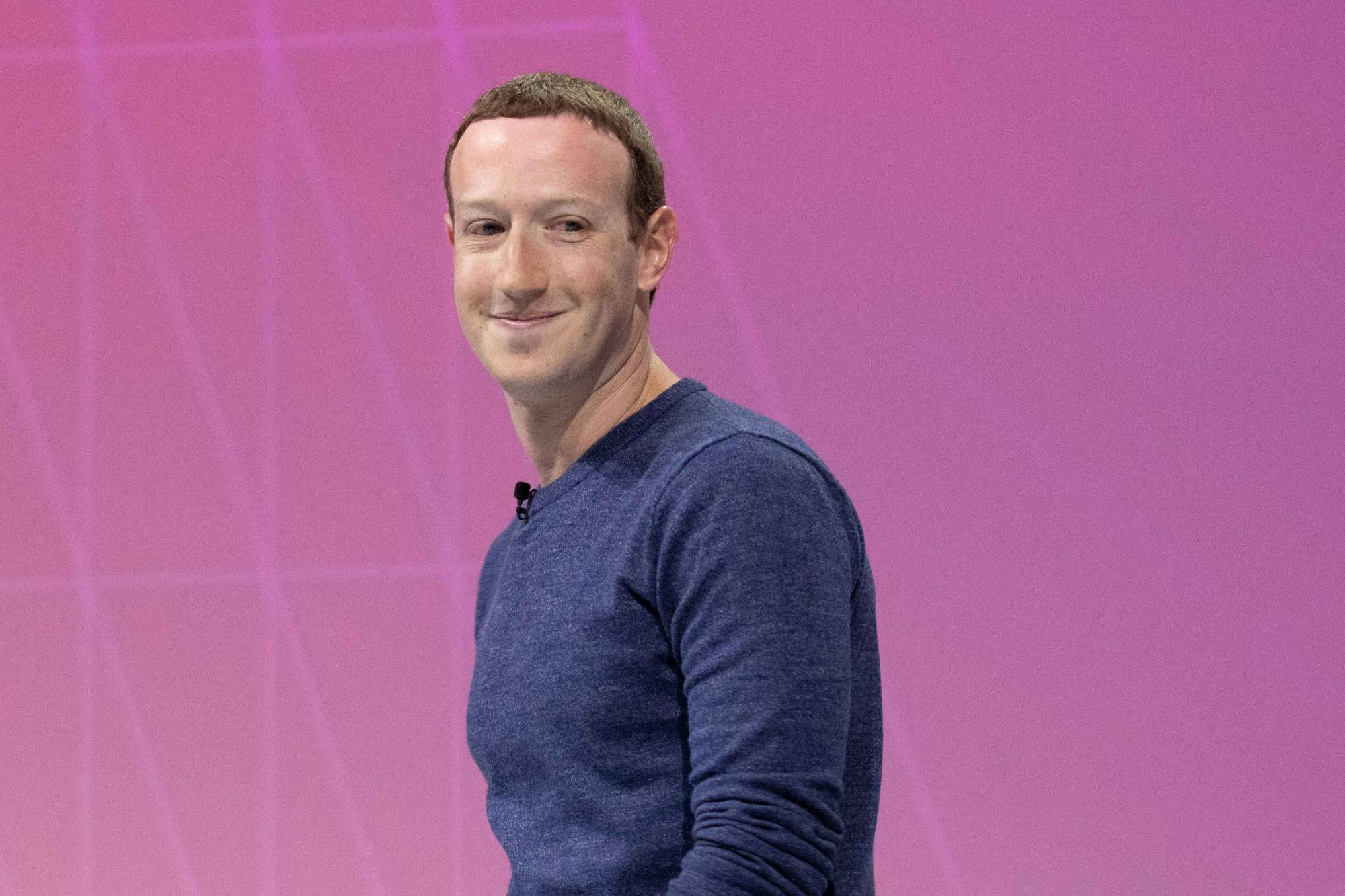 facebook ceo mark zuckerberg at Salon Viva Technology 2018