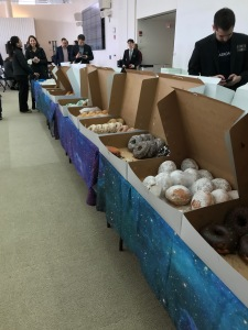 doughnuts offered at MIT space conference