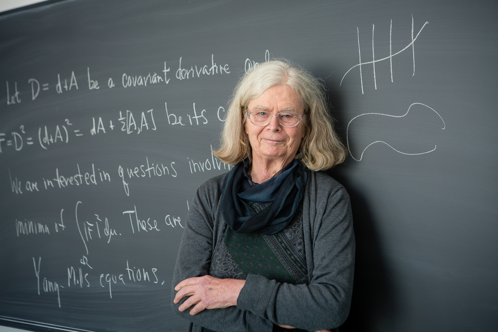 By winning the 2019 Abel Prize, U.S. mathematician Karen Uhlenbeck is first woman to ever receive the prestigious honor. Photo courtesy of Andrea Kane/Institute for Advanced Study.