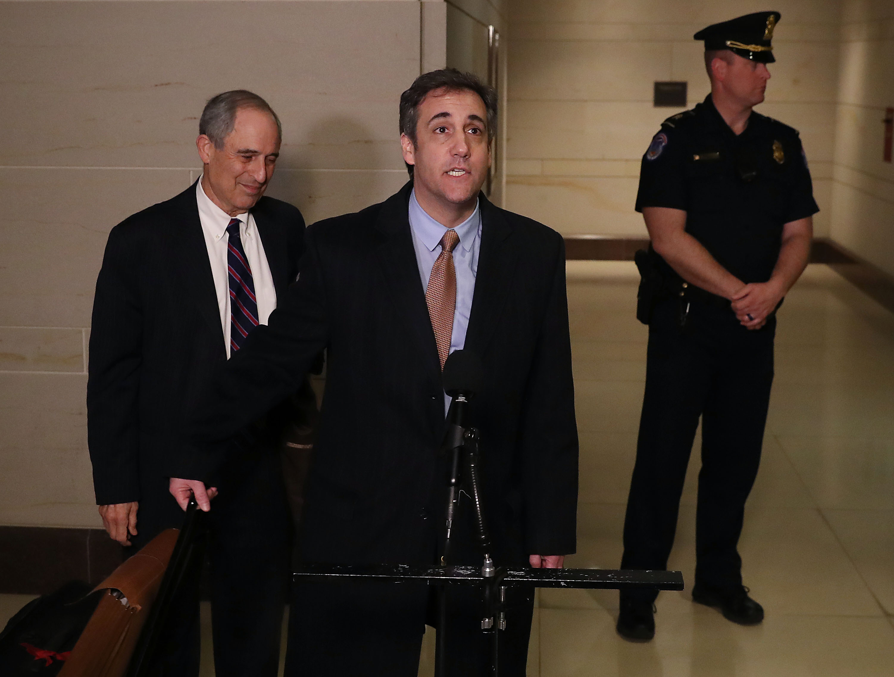 Michael Cohen Continues Testimony To House Intelligence Committee