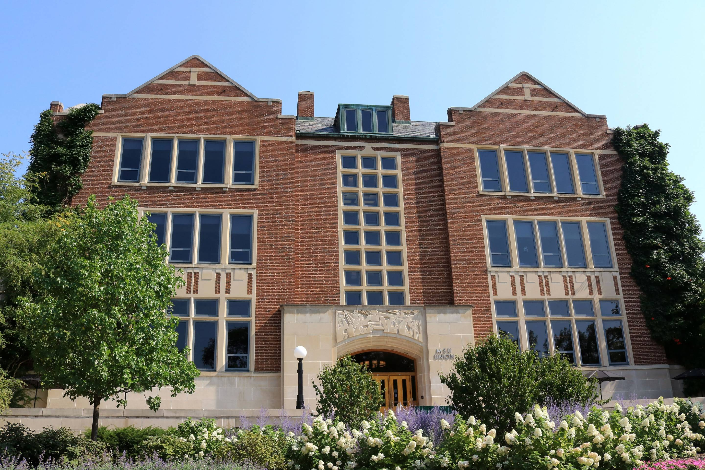 Michigan State University student union building