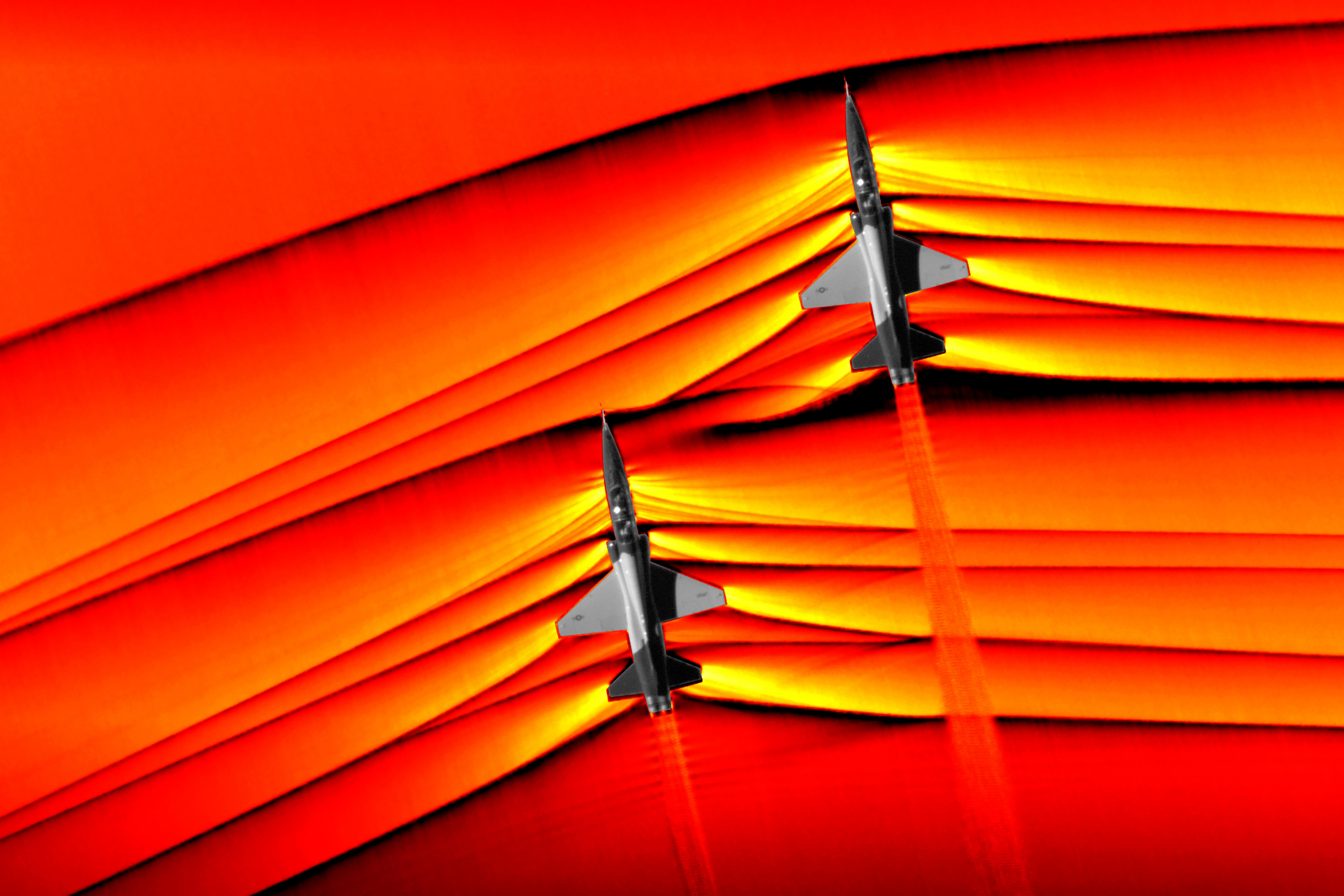 NASA Shockwave Supersonic Photos