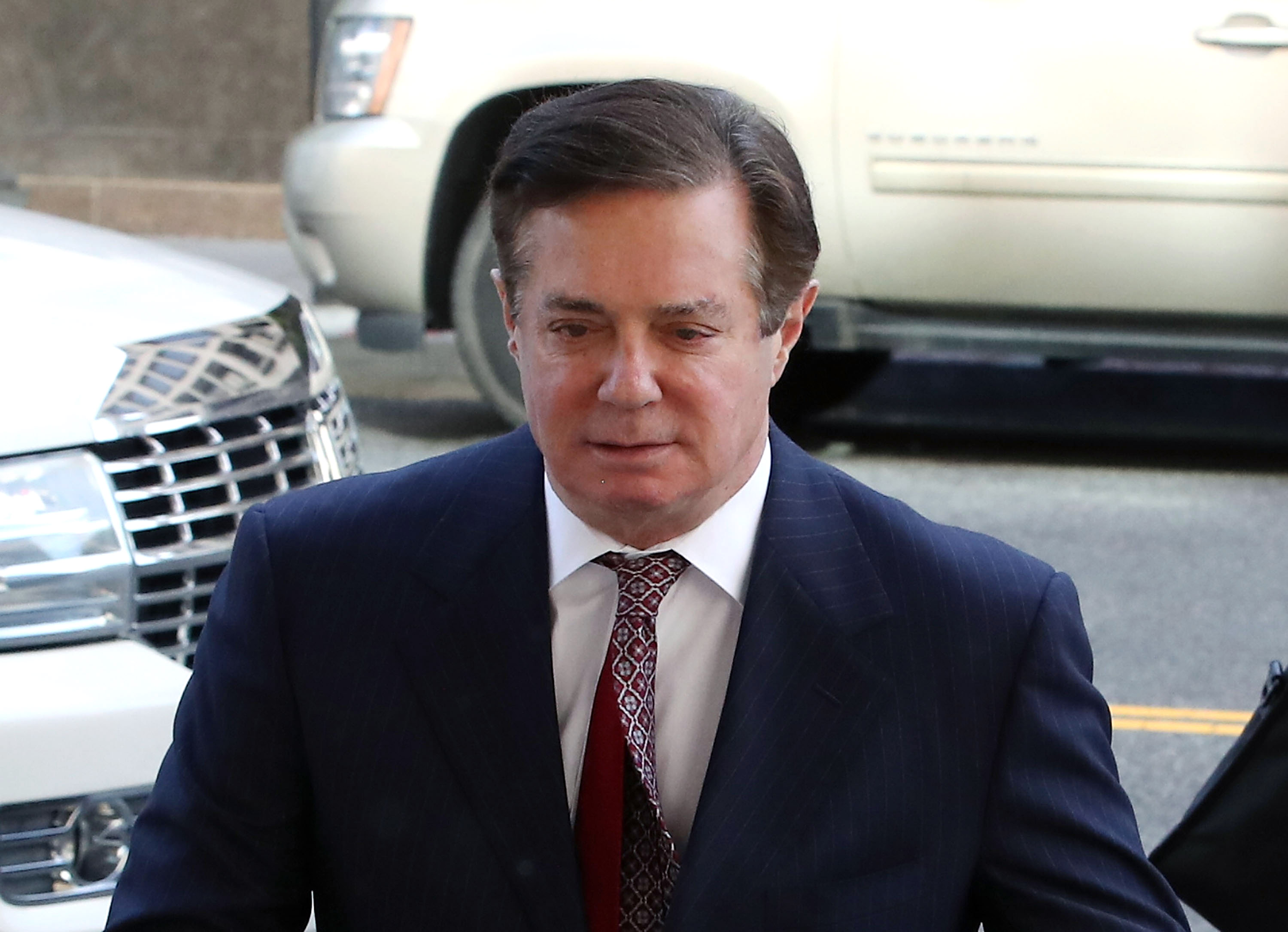 Paul Manafort Arraigned On New Charges Of Witness Tampering